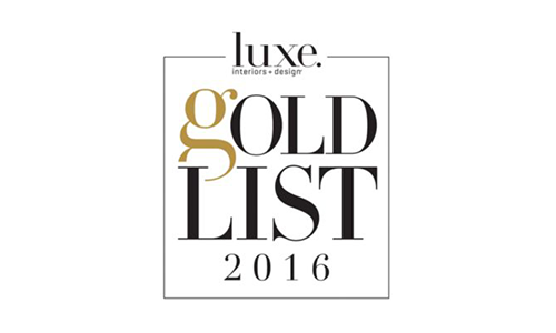 Luxe Gold List seal